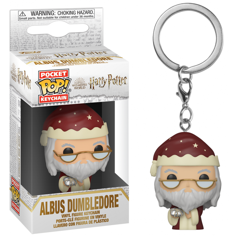 PORTE CLES POP POCKET HARRY POTTER ALBUS DUMBLEDORE - Porte Clés au prix de 7,95 €