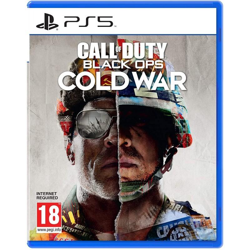 PS5 CALL OF DUTY BLACK OPS COLD WAR - Jeux PS5 au prix de 74,95€