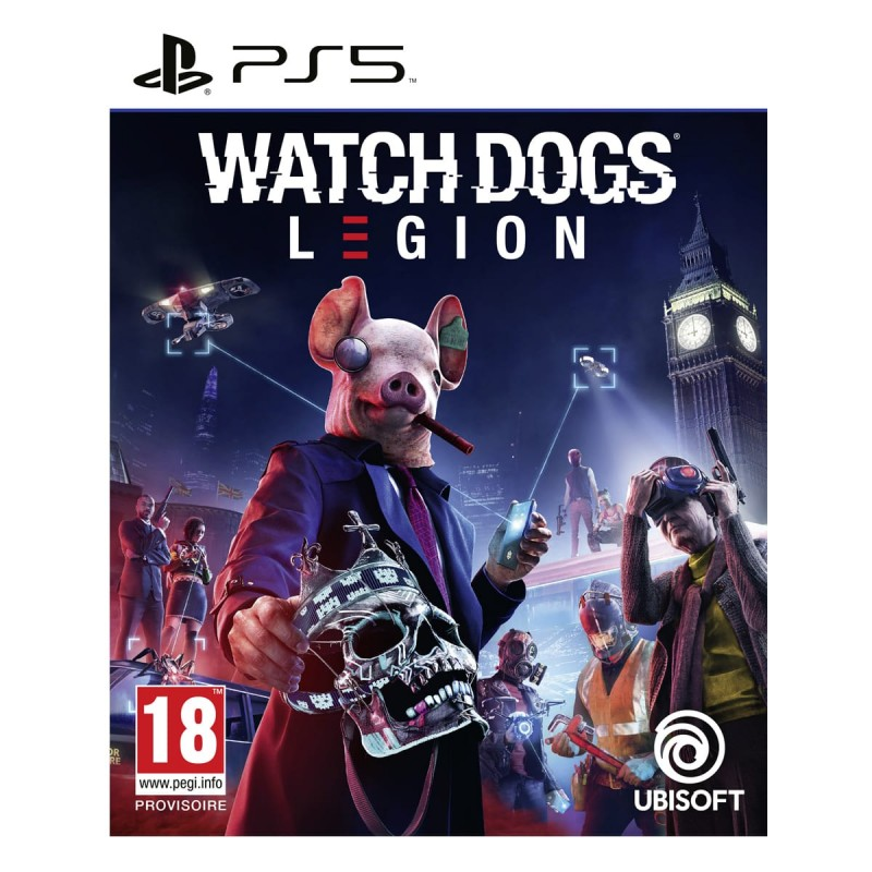 PS5 WATCH DOGS LEGION - Jeux PS5 au prix de 64,95€