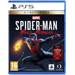 PS5 MARVEL S SPIDERMAN MILES MORALES ULTIMATE EDITION - Jeux PS5 au prix de 69,95€