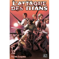 L ATTAQUE DES TITANS T32 - Manga au prix de 6,95€