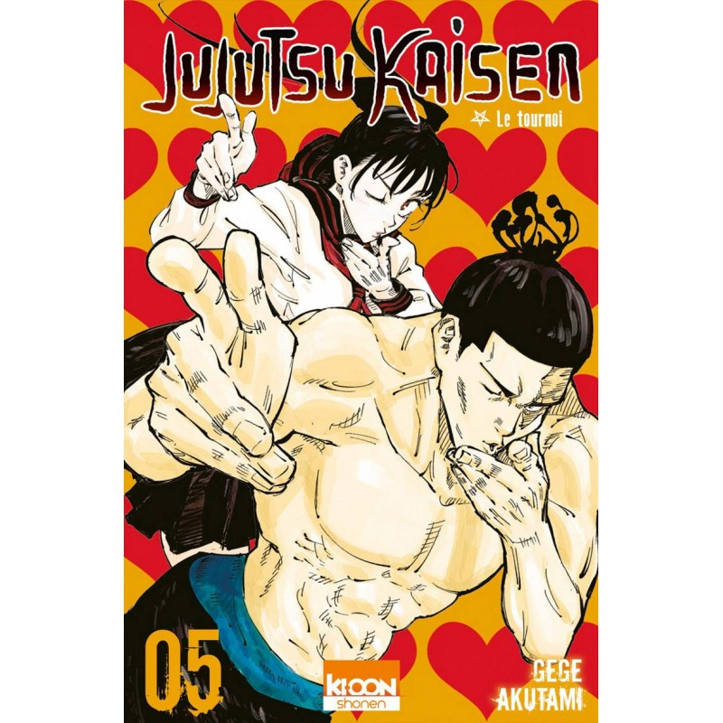 JUJUTSU KAISEN T05 - Manga au prix de 6,90€
