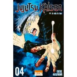 JUJUTSU KAISEN T04 - Manga au prix de 6,90€