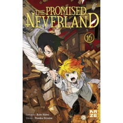THE PROMISED NERVERLAND T16 - Manga au prix de 6,89 €