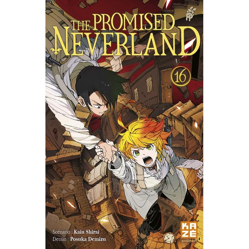 THE PROMISED NERVERLAND T16 - Manga au prix de 6,89€