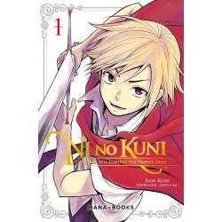 NI NO KUNI L HERITIER DE LA LUMIERE ET LE PRINCE CHAT T01 - Manga au prix de 6,90€