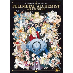 FULLMETAL ALCHEMIST ARTWORKS - Manga au prix de 39,90€