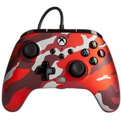 MANETTE XBOX SERIES CAMO RED FILAIRE POWER A - Accessoires Xbox Series au prix de 39,95€