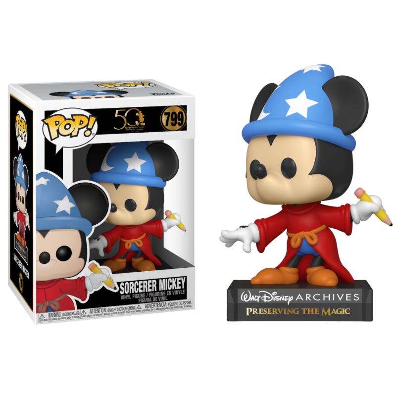 POP DISNEY 789 SORCERER MICKEY - Figurines POP au prix de 14,95€