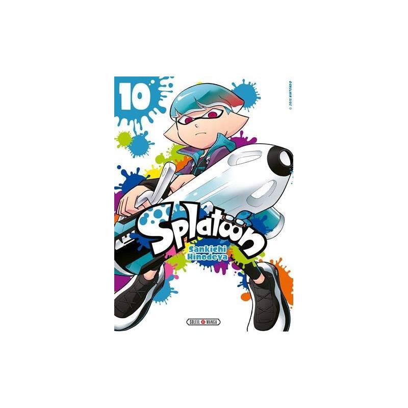 SPLATOON T10 - Manga au prix de 7,99€