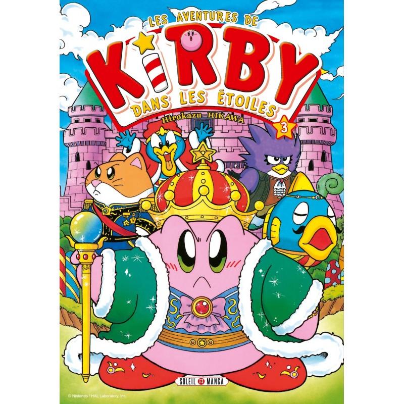 LES AVENTURES DE KIRBY DANS LES ETOILES T03 - Manga au prix de 6,99€