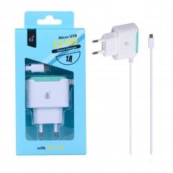 CHARGEUR SECTEUR MICRO USB BLANC ONE PLUS - Connectique Multimédia au prix de 9,95€