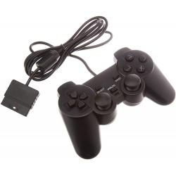MANETTE DUAL SHOCK PS2 NOIR MTK - Accessoires PS2 au prix de 9,95€