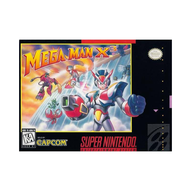 SN MEGA MAN X3 (IMPORT US + LOOSE) - Jeux Super NES au prix de 149,95€