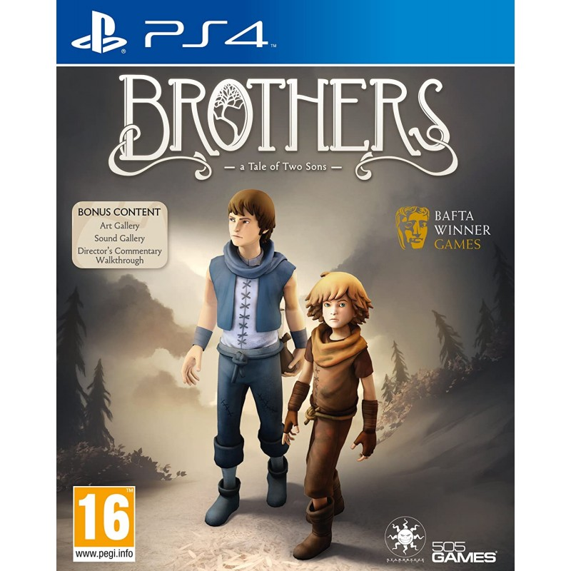 PS4 BROTHERS A TALE OF TWO SONS OCC - Jeux PS4 au prix de 14,95€