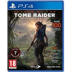 PS4 SHADOW OF THE TOMB RAIDER DEFINITIVE EDITION - Jeux PS4 au prix de 24,95€