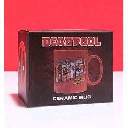 MUG MARVEL DEADPOOL CERAMIQUE 400ML - Mugs au prix de 9,95€