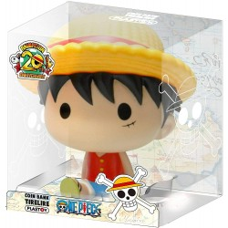 TIRELIRE ONE PIECE LUFFY CHIBI 15CM - Autres Goodies au prix de 14,95 €