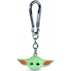 PORTE CLES STAR WARS THE MANDALORIAN THE CHILD 3D - Porte Clés au prix de 6,95 €