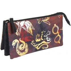 TROUSSE HARRY POTTER 3 ZIPPERS - Papeterie au prix de 9,95 €