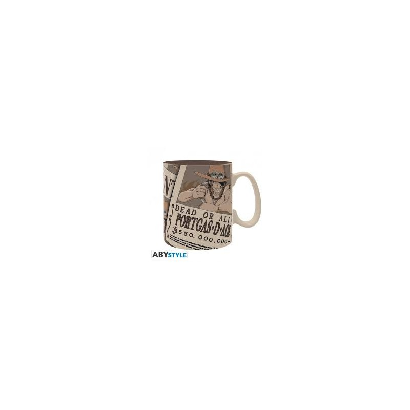 MUG ONE PIECE WANTED ACE 460ML - Mugs au prix de 14,95€