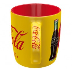 MUG COCA COLA JAUNE 350ML - Mugs au prix de 9,95€