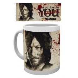 MUG THE WALKING DEAD DARYL NEEDS YOU 300ML - Mugs au prix de 9,95€