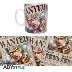 MUG ONE PIECE ZORO WANTED 460ML - Mugs au prix de 9,95€