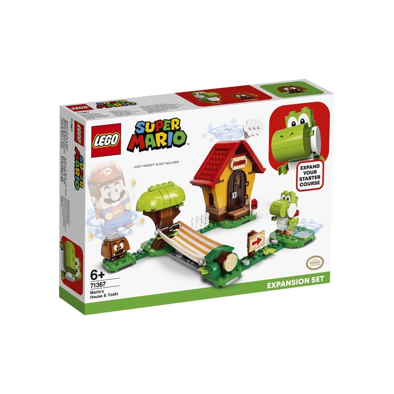 LEGO MARIO 71367 MAISON DE YOSHI ET MARIO - Puzzles & Jouets au prix de 29,95€