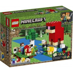LEGO MINECRAFT 21153 FERME A LAINE - Puzzles & Jouets au prix de 19,95€