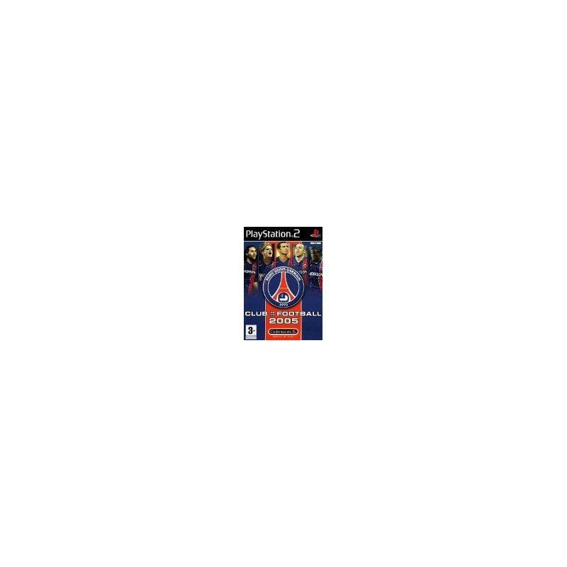 PS2 CLUB FOOTBALL 05 PSG - Jeux PS2 au prix de 4,95€