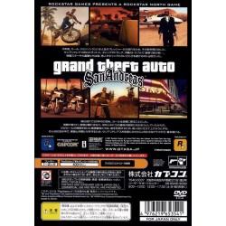 PS2 GTA SAN ANDREAS (IMPORT JAP) - Jeux PS2 au prix de 9,95€