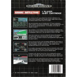 MD ABRAMS BATTLE TANK - Jeux Mega Drive au prix de 9,95€