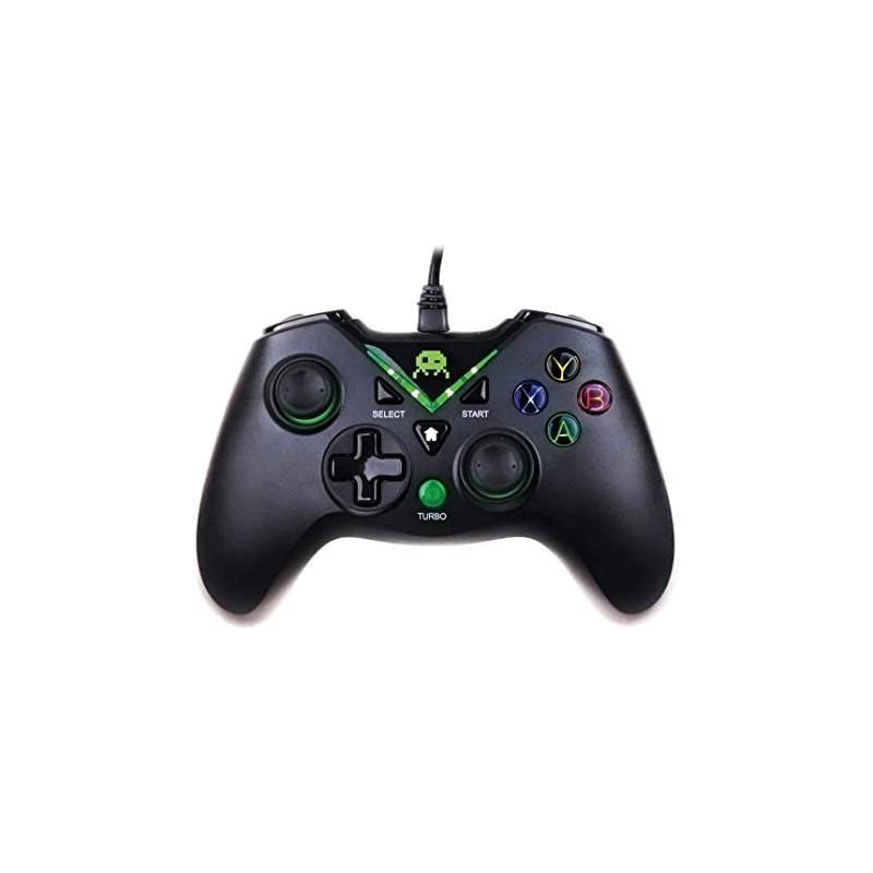 MANETTES FILAIRE X360 NOIRE FREEKS AND GEEKS - Accessoires Xbox 360 au prix de 24,95€