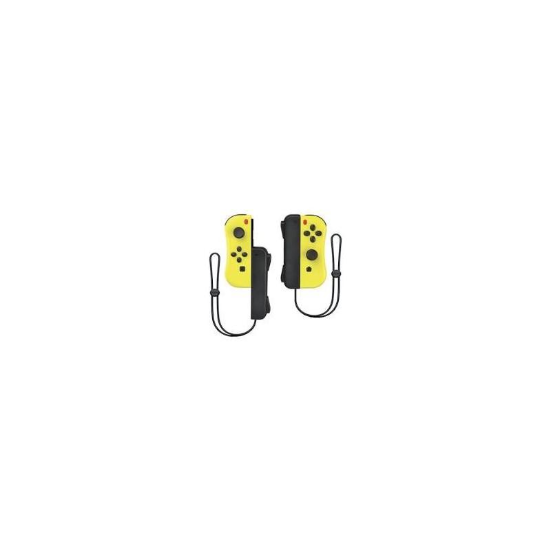 PAIRE JOYCON SWITCH PIKACHU JAUNES AVEC DRAGONNES UNDERCONTROL - Accessoires Switch au prix de 49,95€