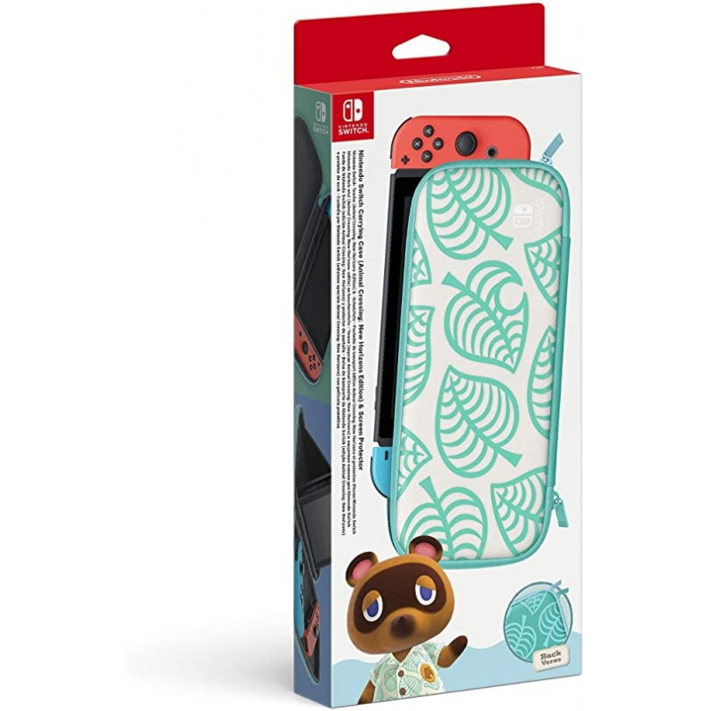 HOUSSE DE PROTECTION SWITCH ANIMAL CROSSING NEW HORIZONS - Accessoires Switch au prix de 24,95 €