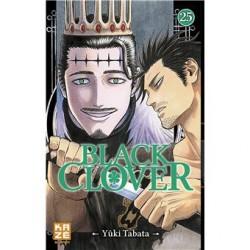BLACK CLOVER T25 - Manga au prix de 6,89€