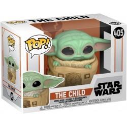 POP STAR WARS 405 THE MANDALORIAN THE CHILD WITH CARRIER - Figurines POP au prix de 14,95€