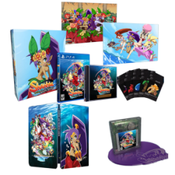 PS4 SHANTAE AND THE SEVEN SIRENS COLLECTOR S EDITION LIMITED RUN - Jeux Switch au prix de 109,95 €