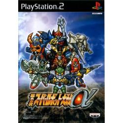 PS2 SUPER ROBOT TAISEN ALPHA 2ND (IMPORT JAP) - Jeux PS2 au prix de 12,95€