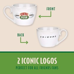 MUG FRIENDS CENTRAL PERK CAPPUCCINO 300ML - Mugs au prix de 9,95€
