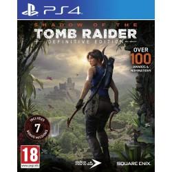 PS4 SHADOW OF THE TOMB RAIDER DEFINITIVE EDITION - Jeux PS4 au prix de 29,95€