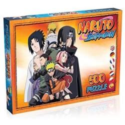 PUZZLE NARUTO SHIPPUDEN 500 PIECES - Puzzles & Jouets au prix de 17,95€