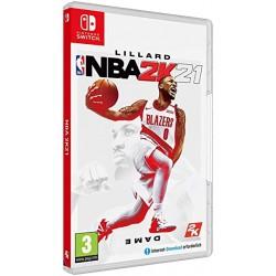 SWITCH NBA 2K21 OCC - Jeux Switch au prix de 24,95€