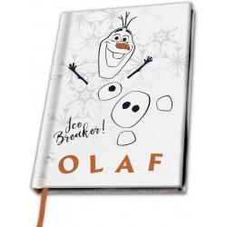 CARNET DISNEY LA REINE DES NEIGES OLAF A5 - Papeterie au prix de 9,95€