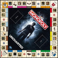 MONOPOLY UNCHARTED - Jeux de Société au prix de 39,95€