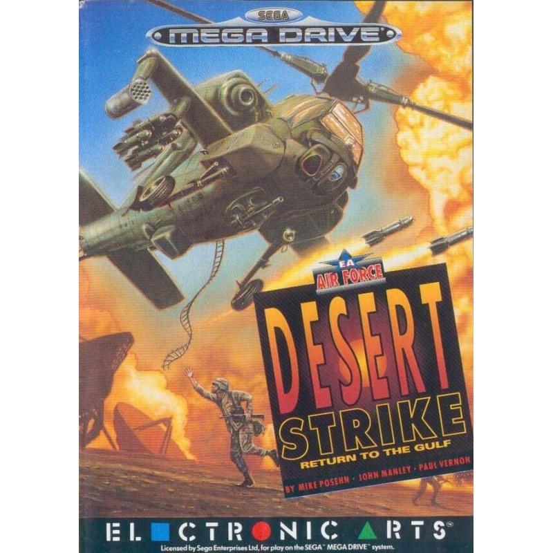 MD DESERT STRIKE (SANS NOTICE) - Jeux Mega Drive au prix de 9,95€