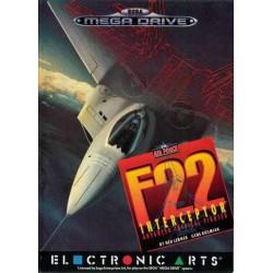 MD F22 INTERCEPTOR - Jeux Mega Drive au prix de 6,95€