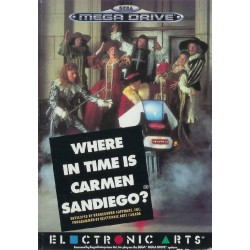 MD WHERE IN TIME IS CARMEN SANDIEGO - Jeux Mega Drive au prix de 6,95 €