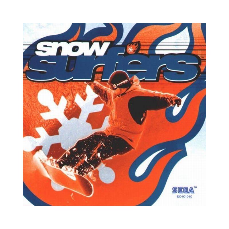 DC SNOW SURFERS - Jeux Dreamcast au prix de 6,95€